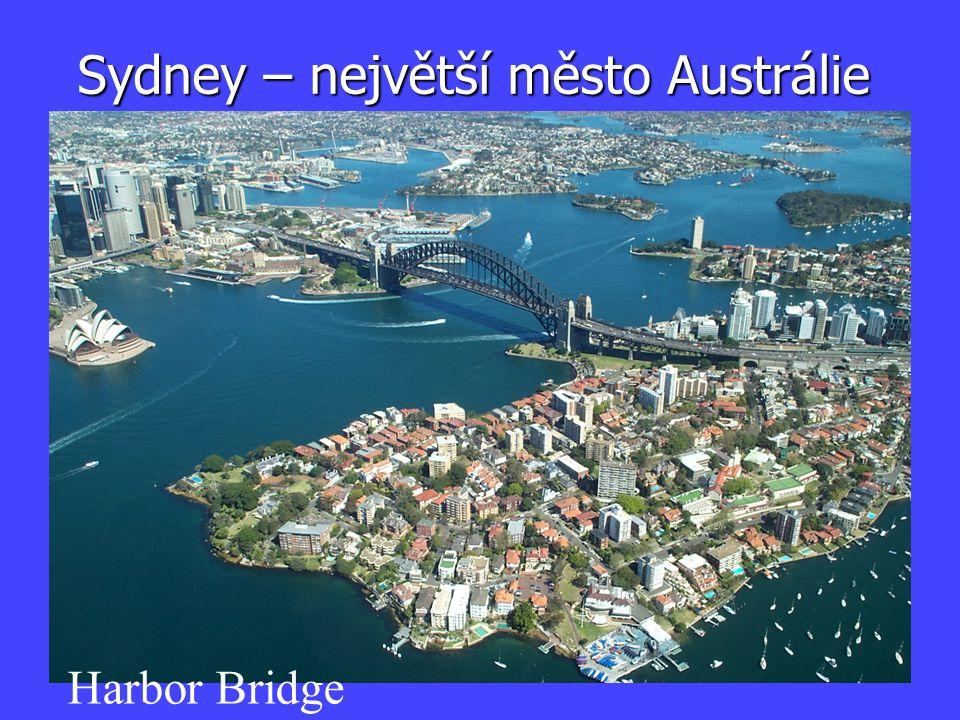Sydney – největší město Austrálie