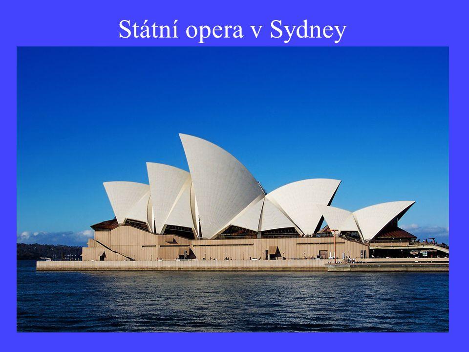 Státní opera v Sydney