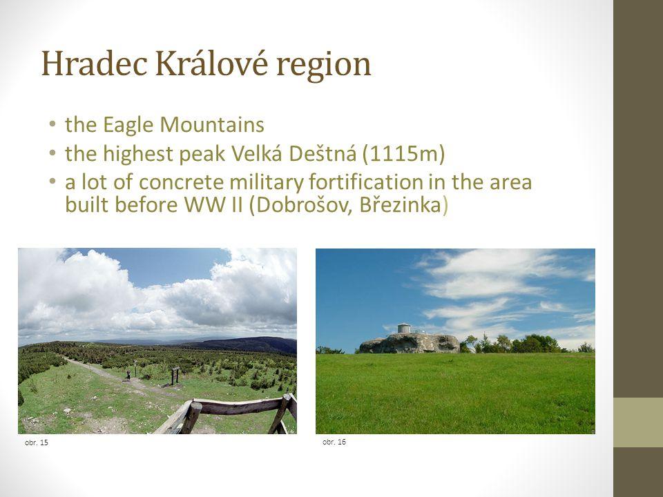 Hradec Králové region the Eagle Mountains