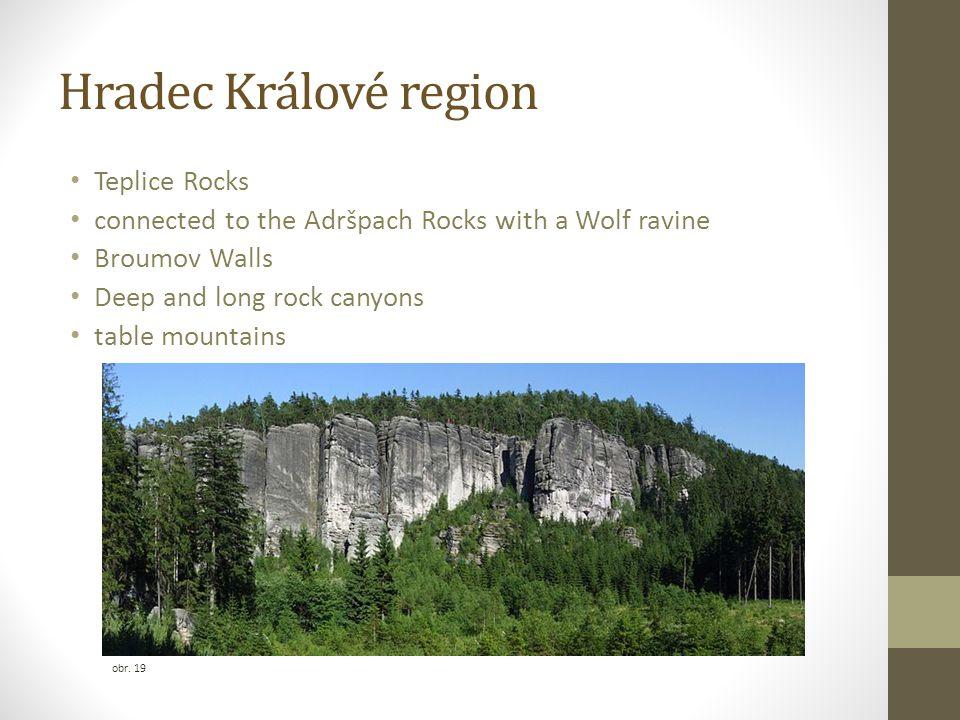 Hradec Králové region Teplice Rocks