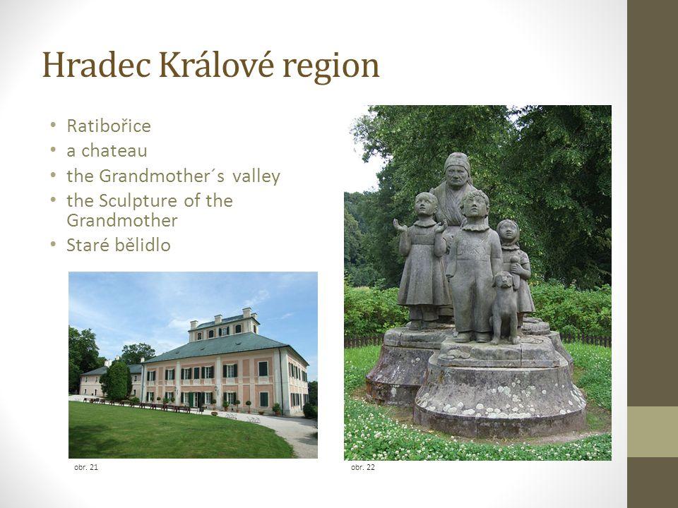 Hradec Králové region Ratibořice a chateau the Grandmother´s valley