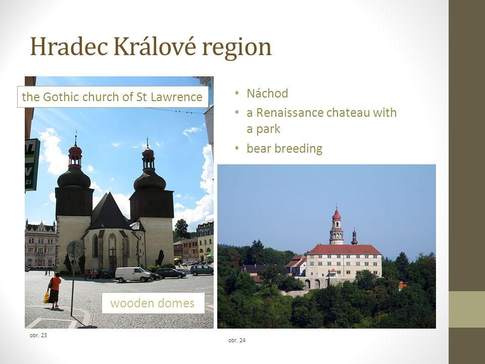 Hradec Králové region Náchod the Gothic church of St Lawrence