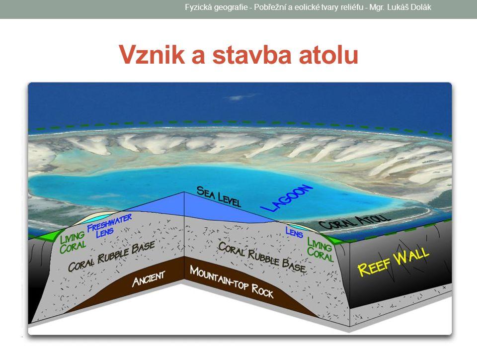 Fyzická geografie - Pobřežní a eolické tvary reliéfu - Mgr. Lukáš Dolák