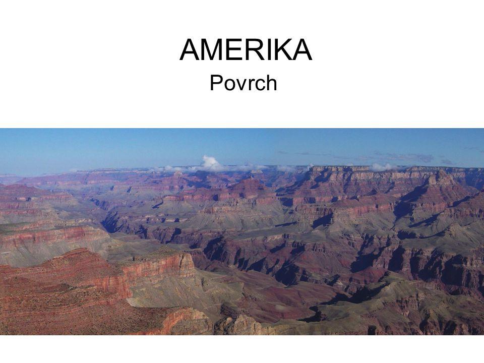 AMERIKA Povrch