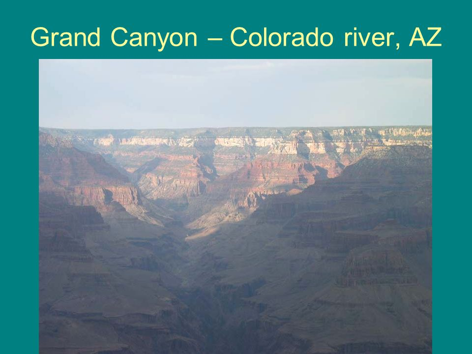 Grand Canyon – Colorado river, AZ