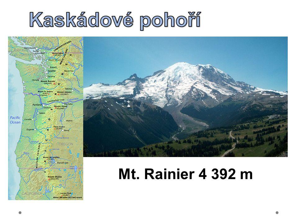 Kaskádové pohoří Mt. Rainier 4 392 m 21.6.2012