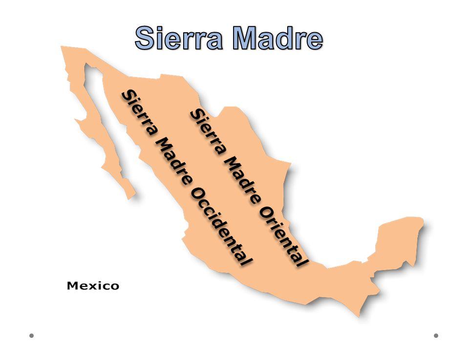 Sierra Madre 21.6.2012 Zdroj: Vytvořeno v programu SmartDraw