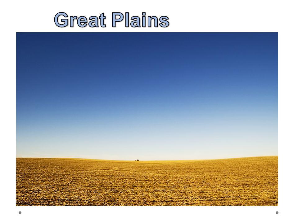 Great Plains 21.6.2012 Velké planiny – prérie = severoamerická step