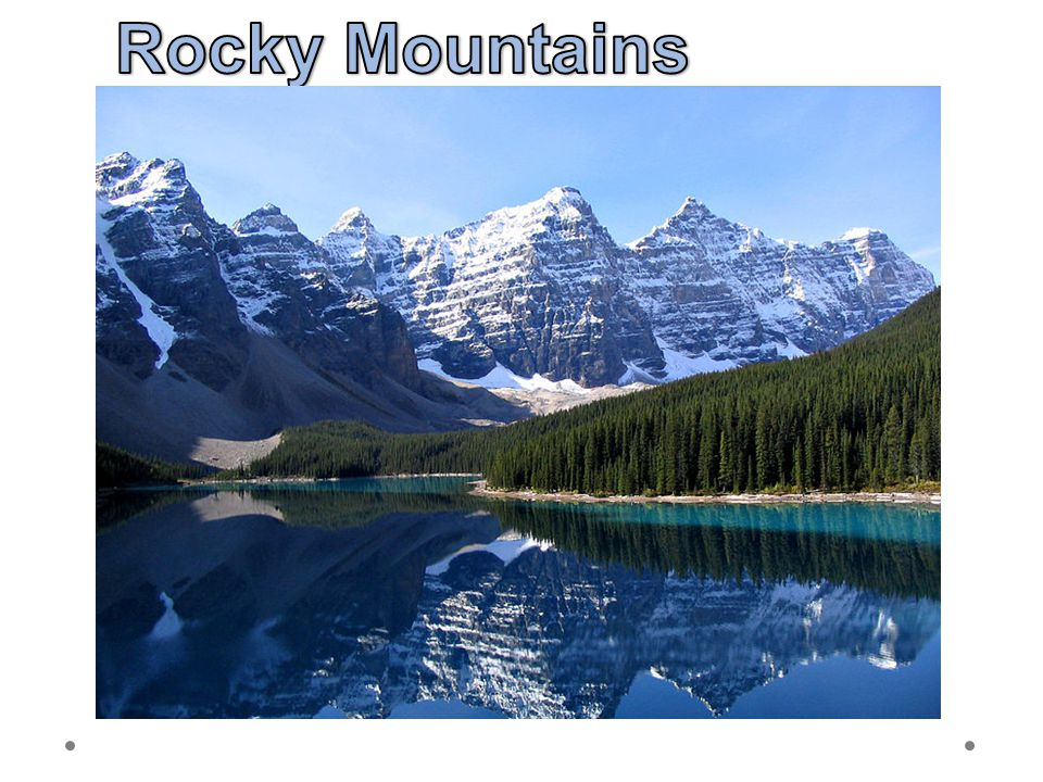Rocky Mountains 21.6.2012 Moraine Lake, Banff National Park, Kanada