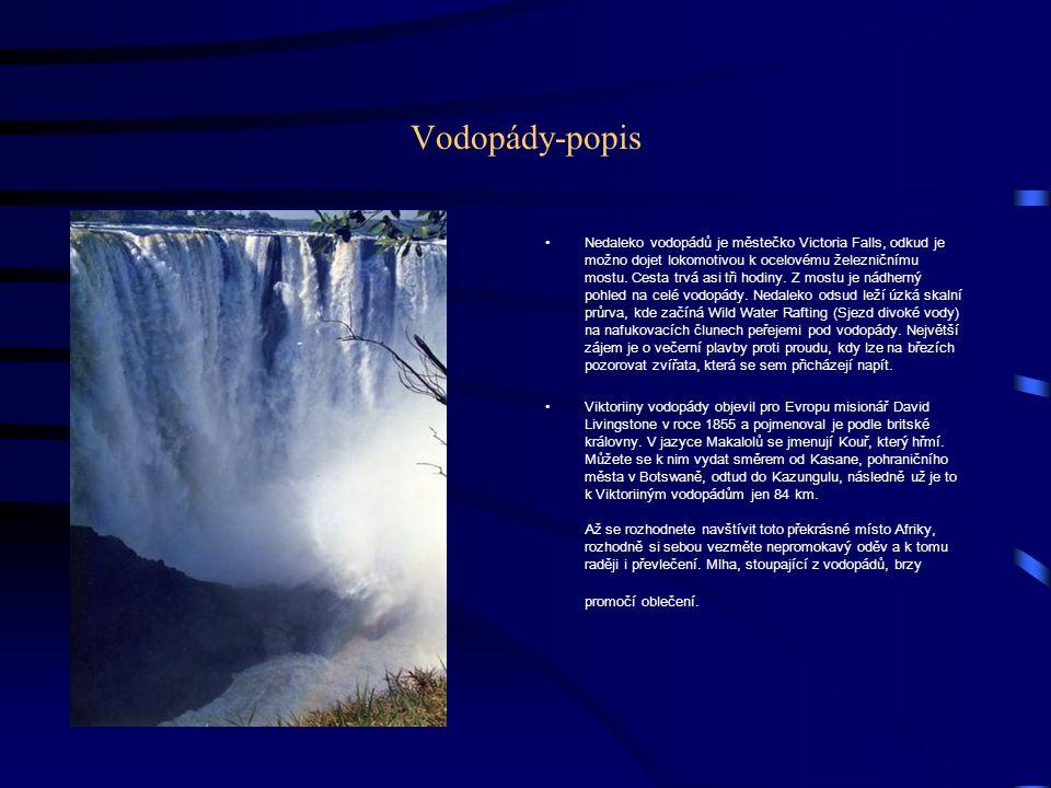 Vodopády-popis