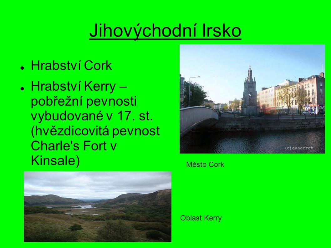 Jihovýchodní Irsko Hrabství Cork