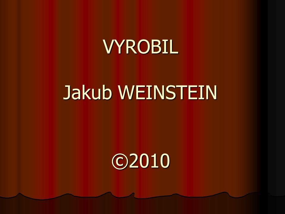 VYROBIL Jakub WEINSTEIN ©2010 KONEC