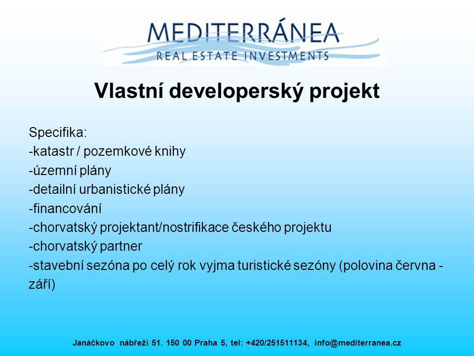 Vlastní developerský projekt