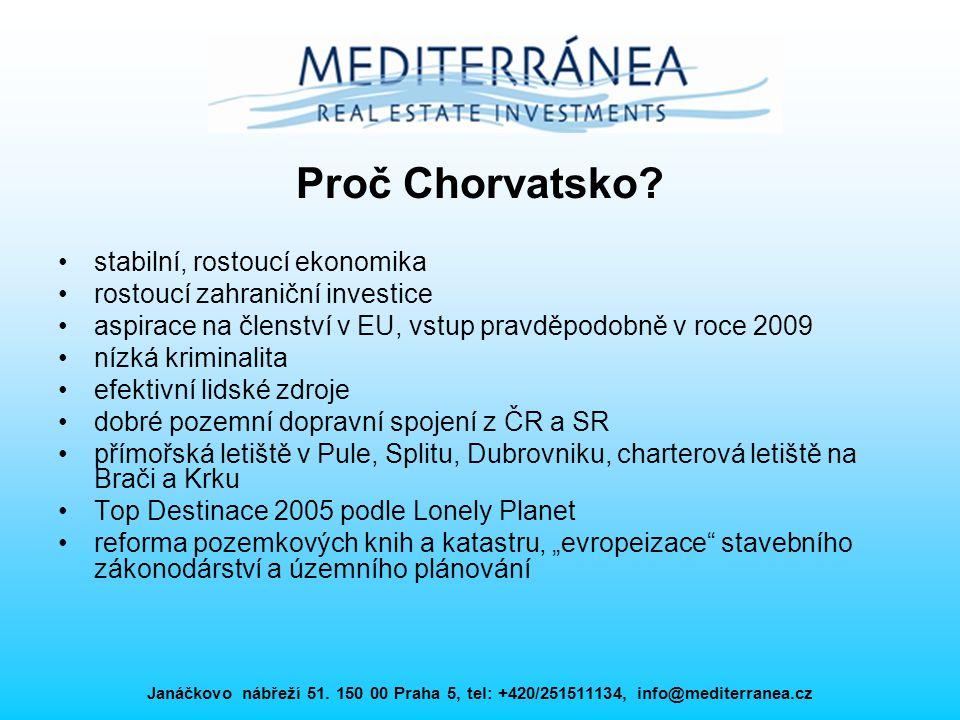 Proč Chorvatsko stabilní, rostoucí ekonomika