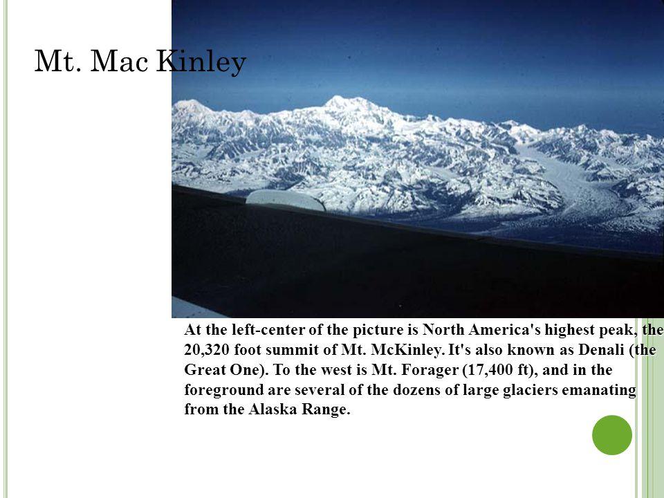 Mt. Mac Kinley