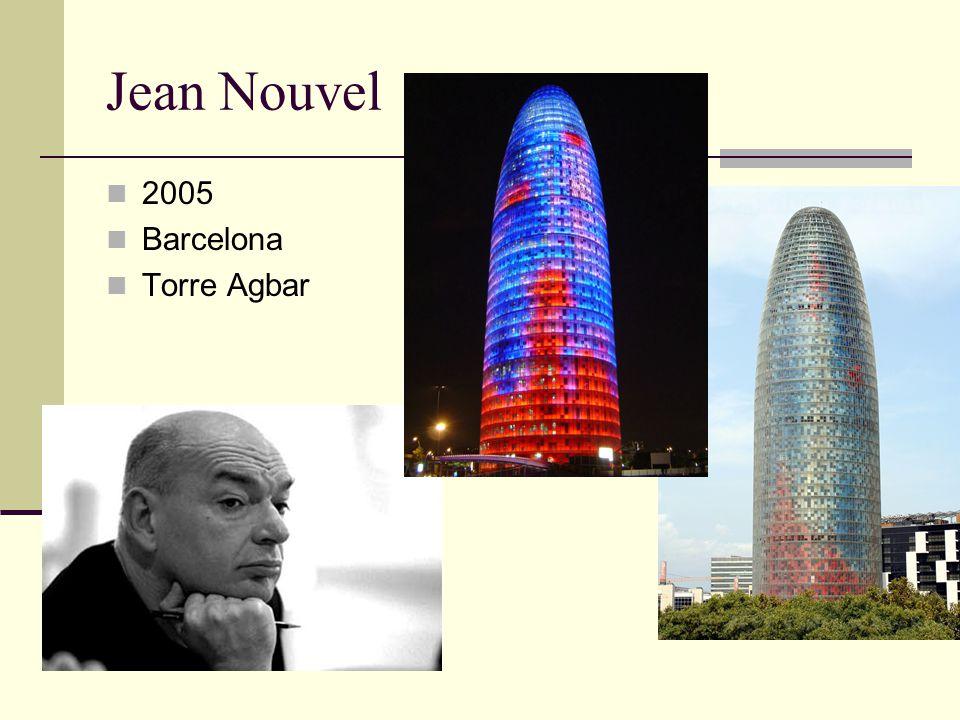 Jean Nouvel 2005 Barcelona Torre Agbar