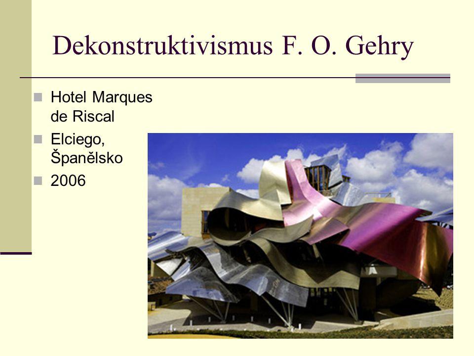 Dekonstruktivismus F. O. Gehry