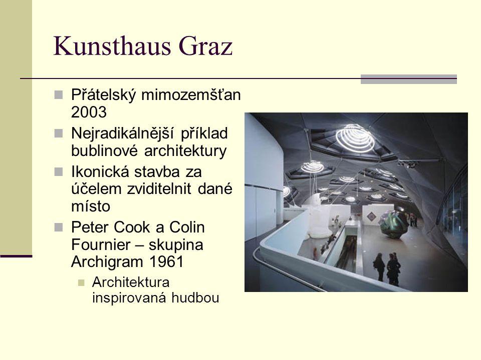 Kunsthaus Graz Přátelský mimozemšťan 2003