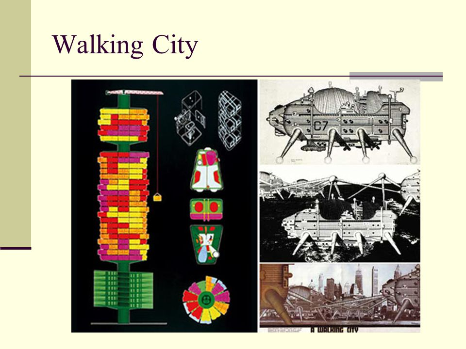 Walking City