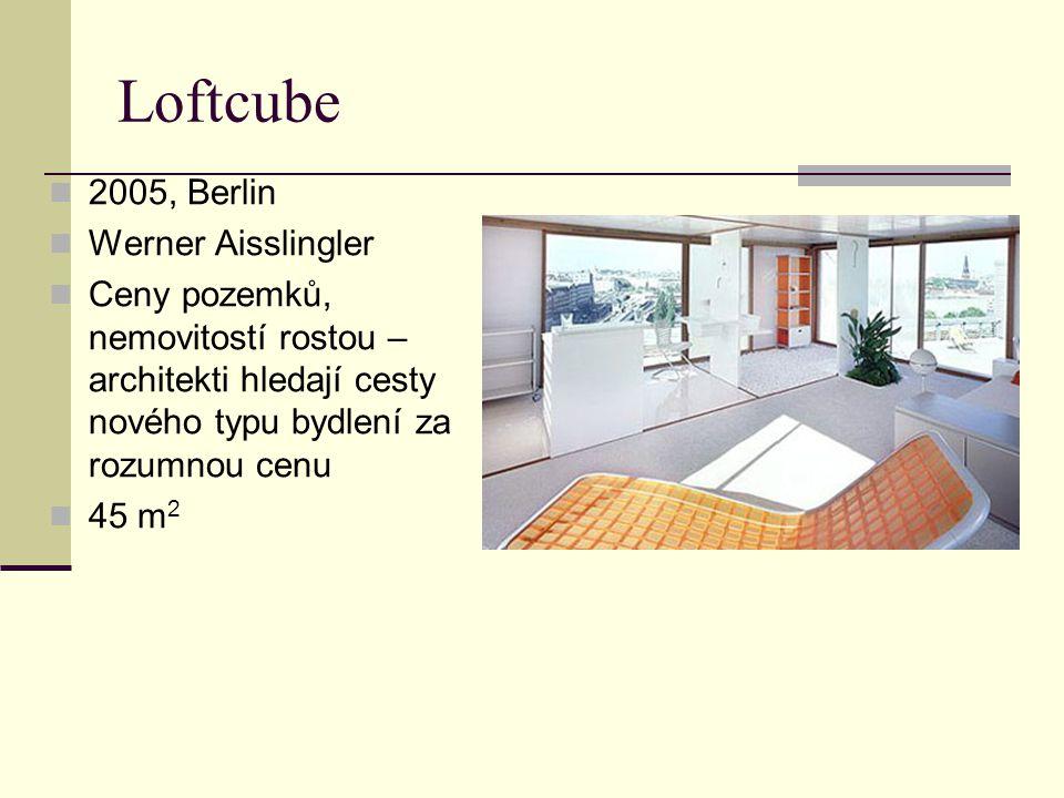 Loftcube 2005, Berlin Werner Aisslingler