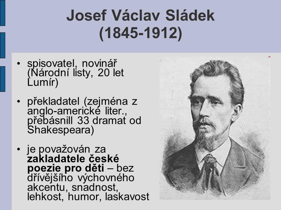 Josef Václav Sládek (1845-1912)