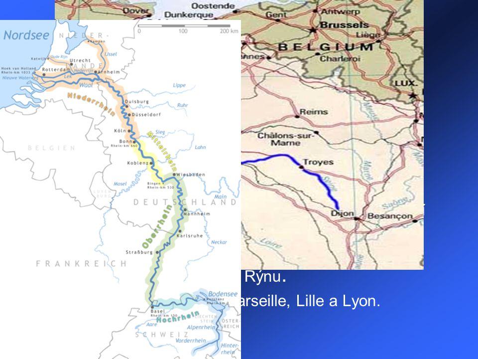 Geografie Pevninská část Francie zaujímá plochu 543 965 km².