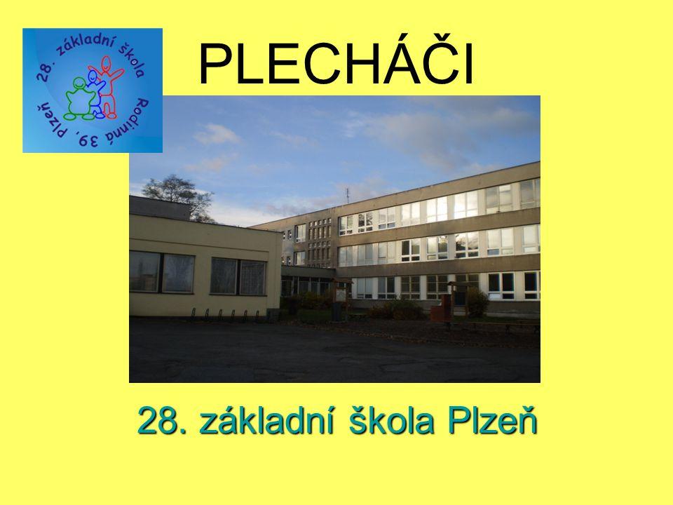 PLECHÁČI 28. základní škola Plzeň