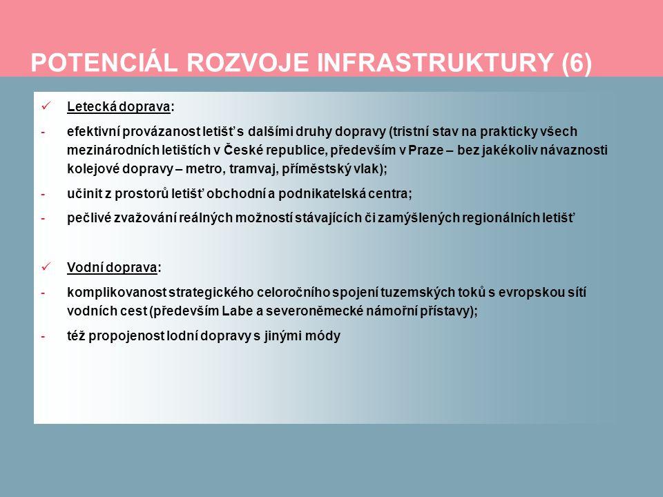 POTENCIÁL ROZVOJE INFRASTRUKTURY (6)