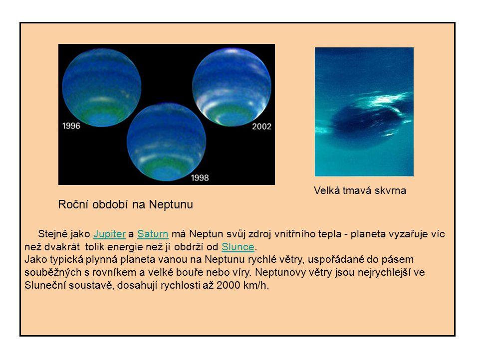 Roční období na Neptunu