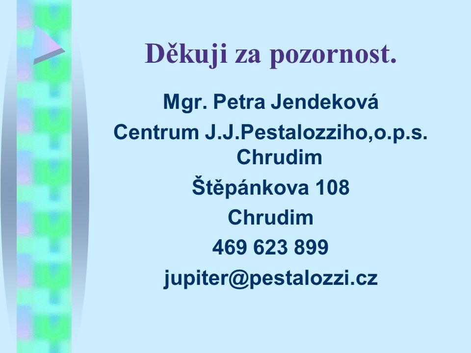Centrum J.J.Pestalozziho,o.p.s. Chrudim