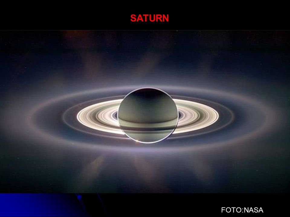 SATURN FOTO:NASA