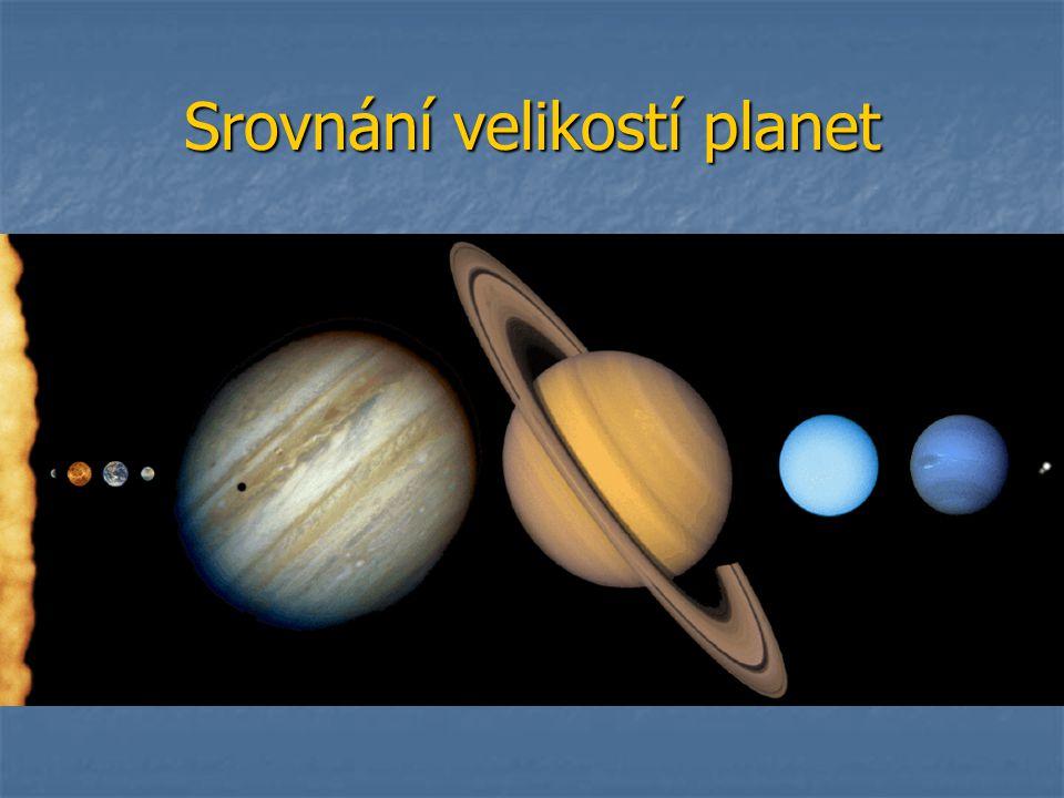 Srovnání velikostí planet
