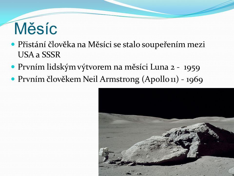 Měsíc Přistání člověka na Měsíci se stalo soupeřením mezi USA a SSSR