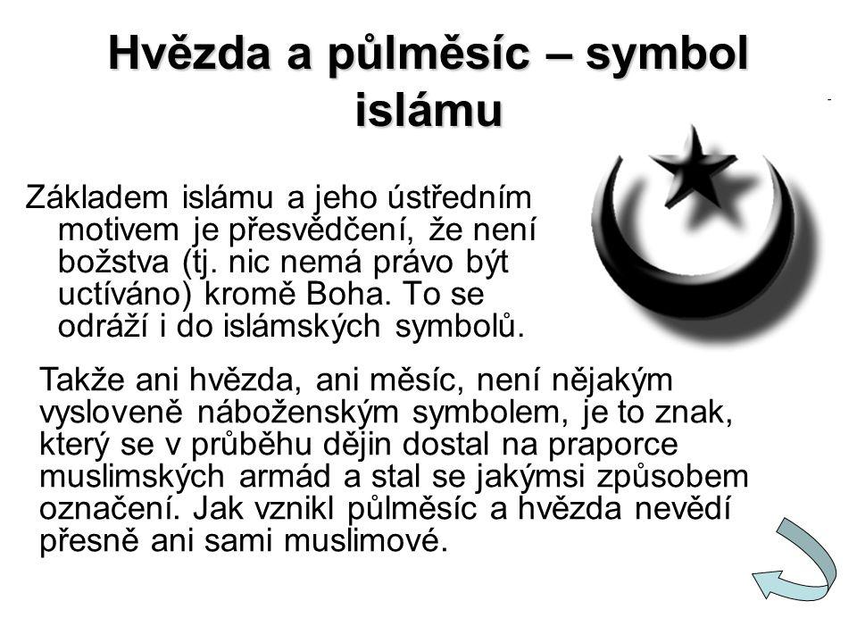 Hvězda a půlměsíc – symbol islámu