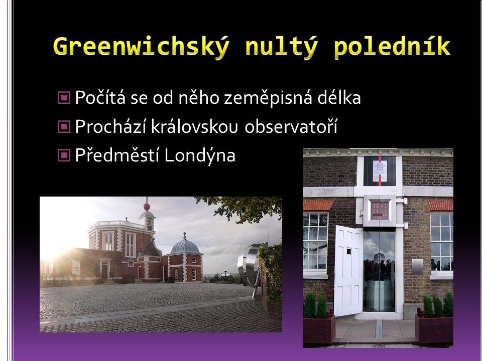 Greenwichský nultý poledník