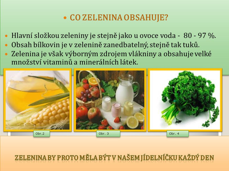 Zelenina by proto měla být v našem jídelníčku každý den