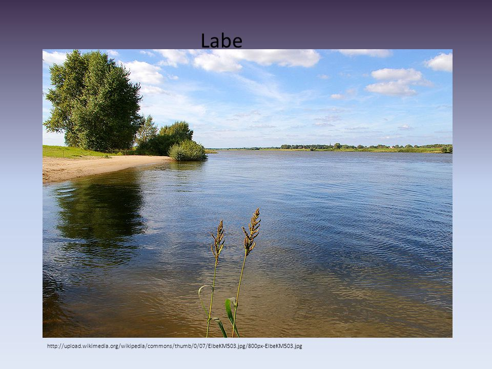 Labe http://upload.wikimedia.org/wikipedia/commons/thumb/0/07/ElbeKM503.jpg/800px-ElbeKM503.jpg