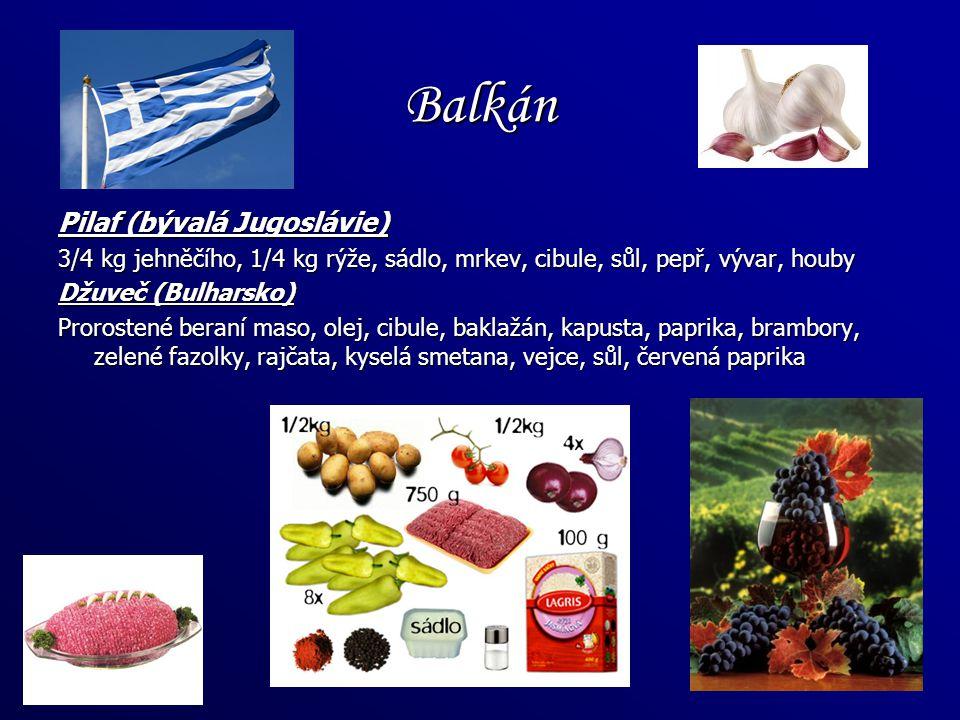 Balkán Pilaf (bývalá Jugoslávie)