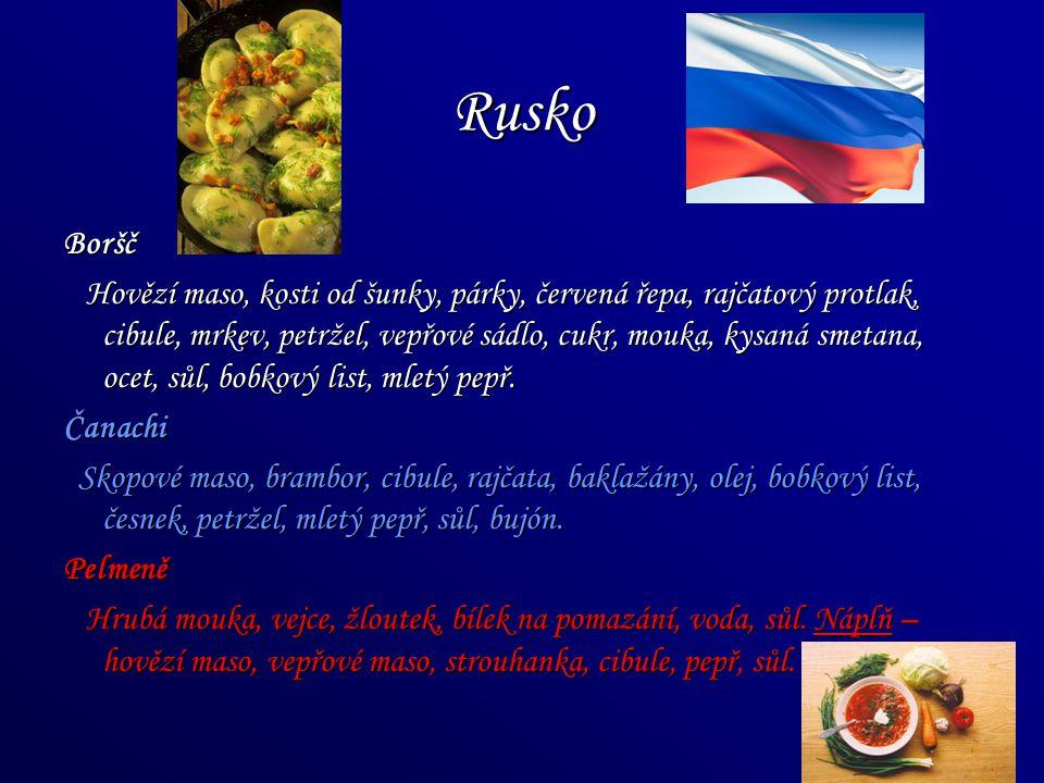 Rusko Boršč.