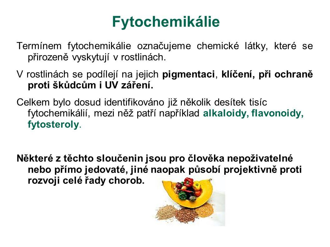 Fytochemikálie