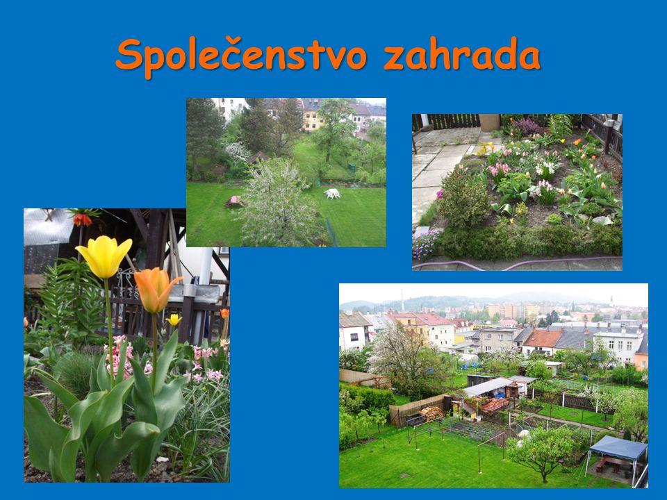 Společenstvo zahrada
