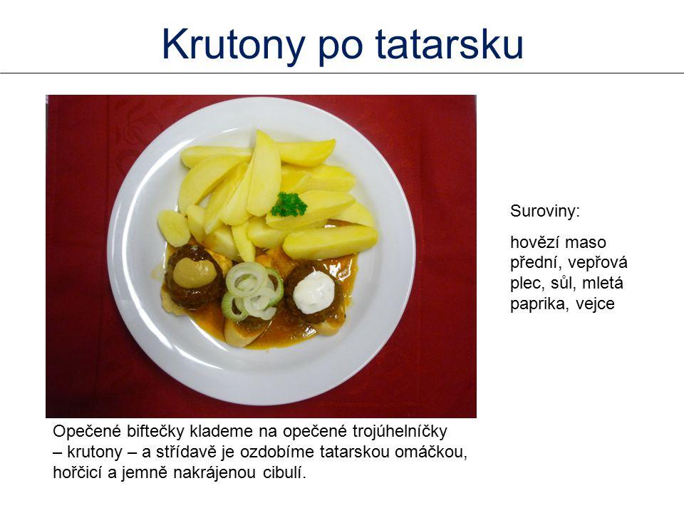 Krutony po tatarsku Suroviny: