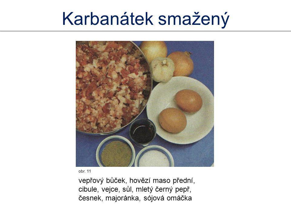 Karbanátek smažený obr. 11.