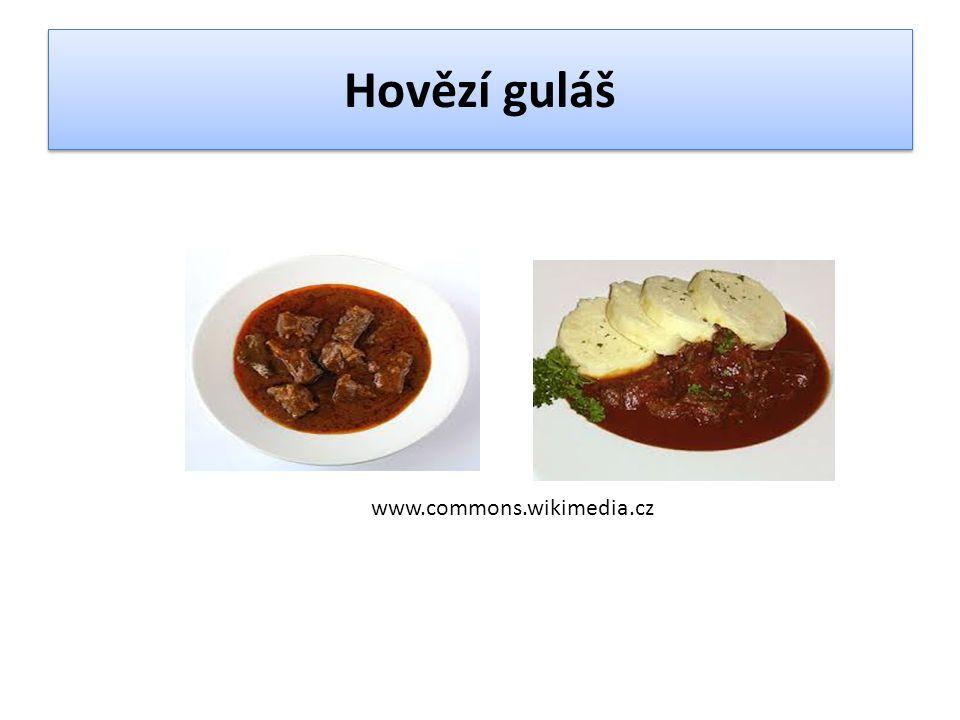 Hovězí guláš www.commons.wikimedia.cz