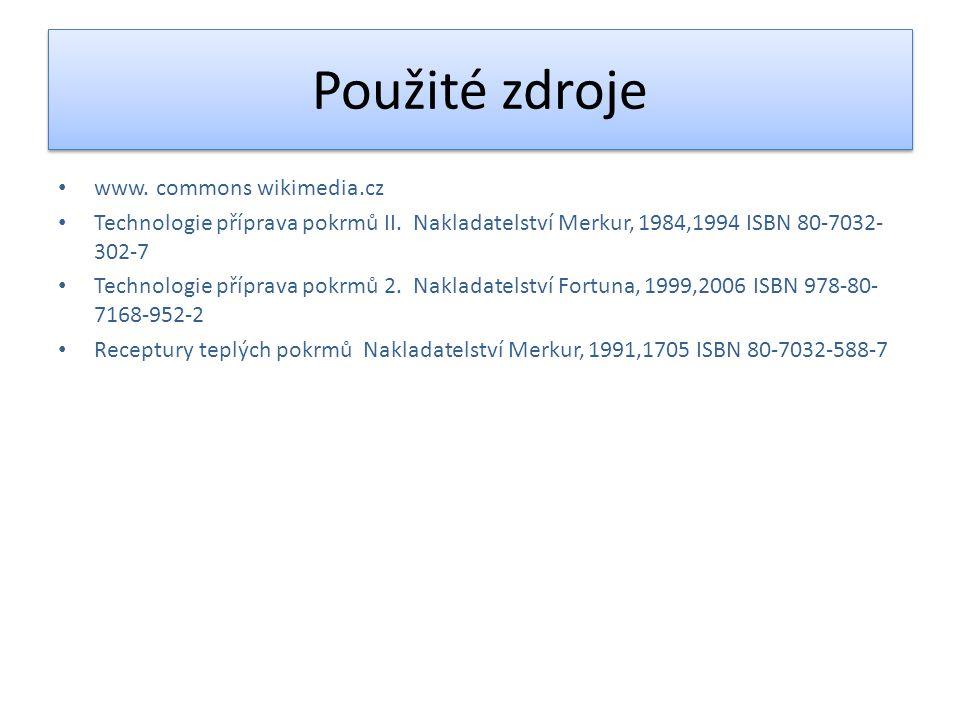 Použité zdroje www. commons wikimedia.cz