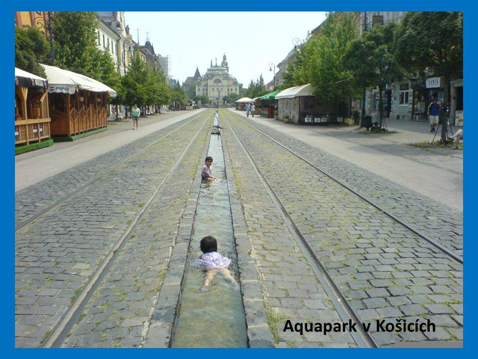 Aquapark v Košicích