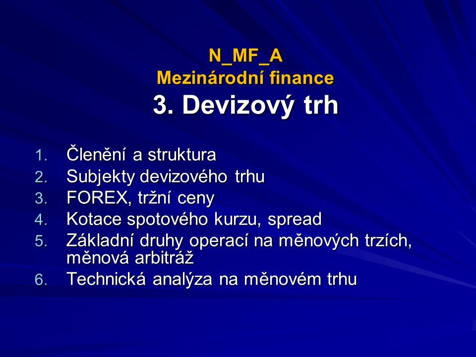 N_MF_A Mezinárodní finance 3. Devizový trh