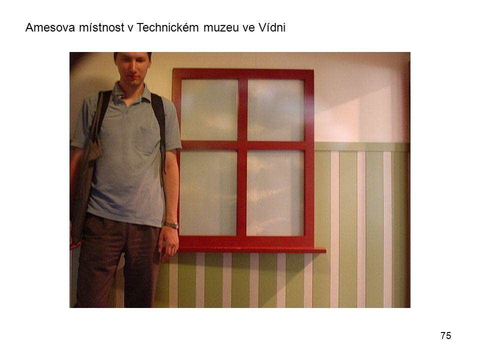 Amesova místnost v Technickém muzeu ve Vídni