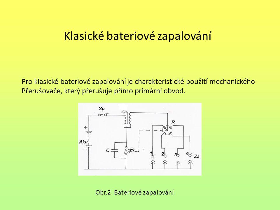 Klasické bateriové zapalování