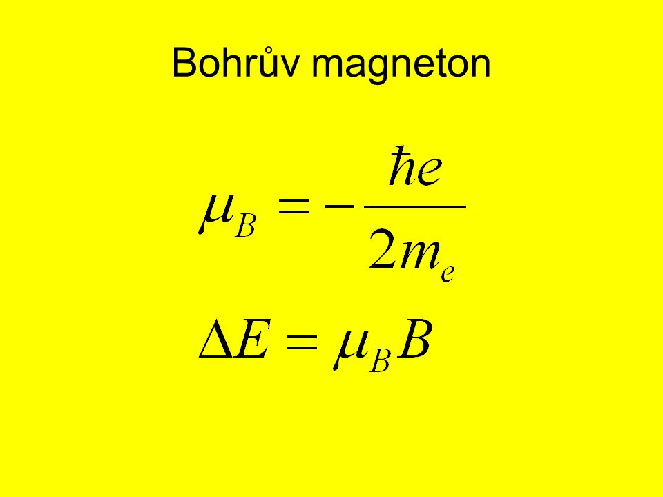 Bohrův magneton